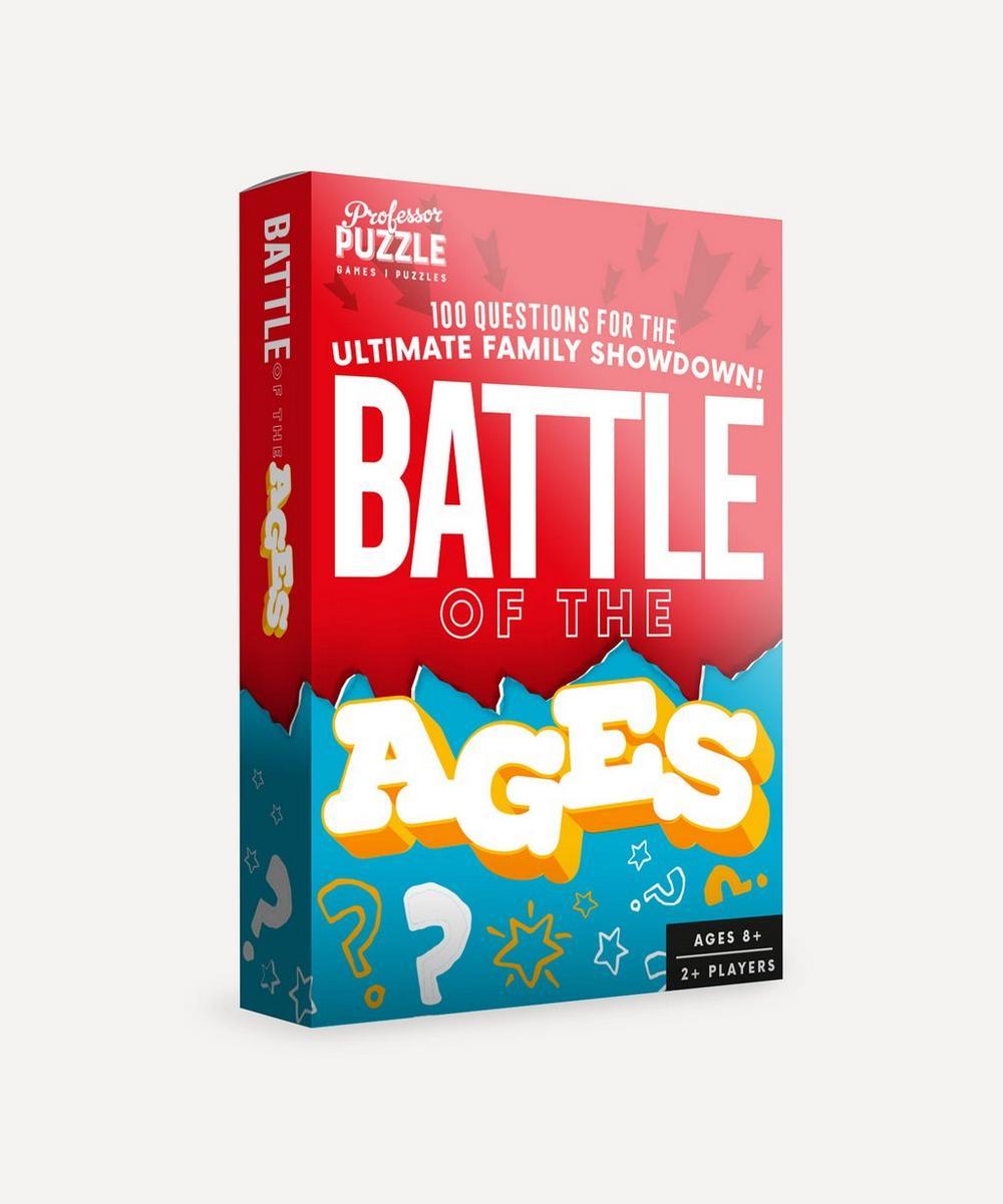 Professor Puzzle - Mini Battle of the Ages Quiz
