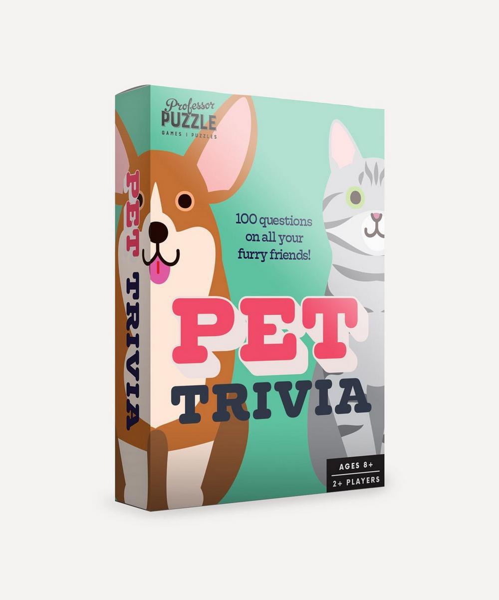 Professor Puzzle - Mini Pet Trivia Quiz
