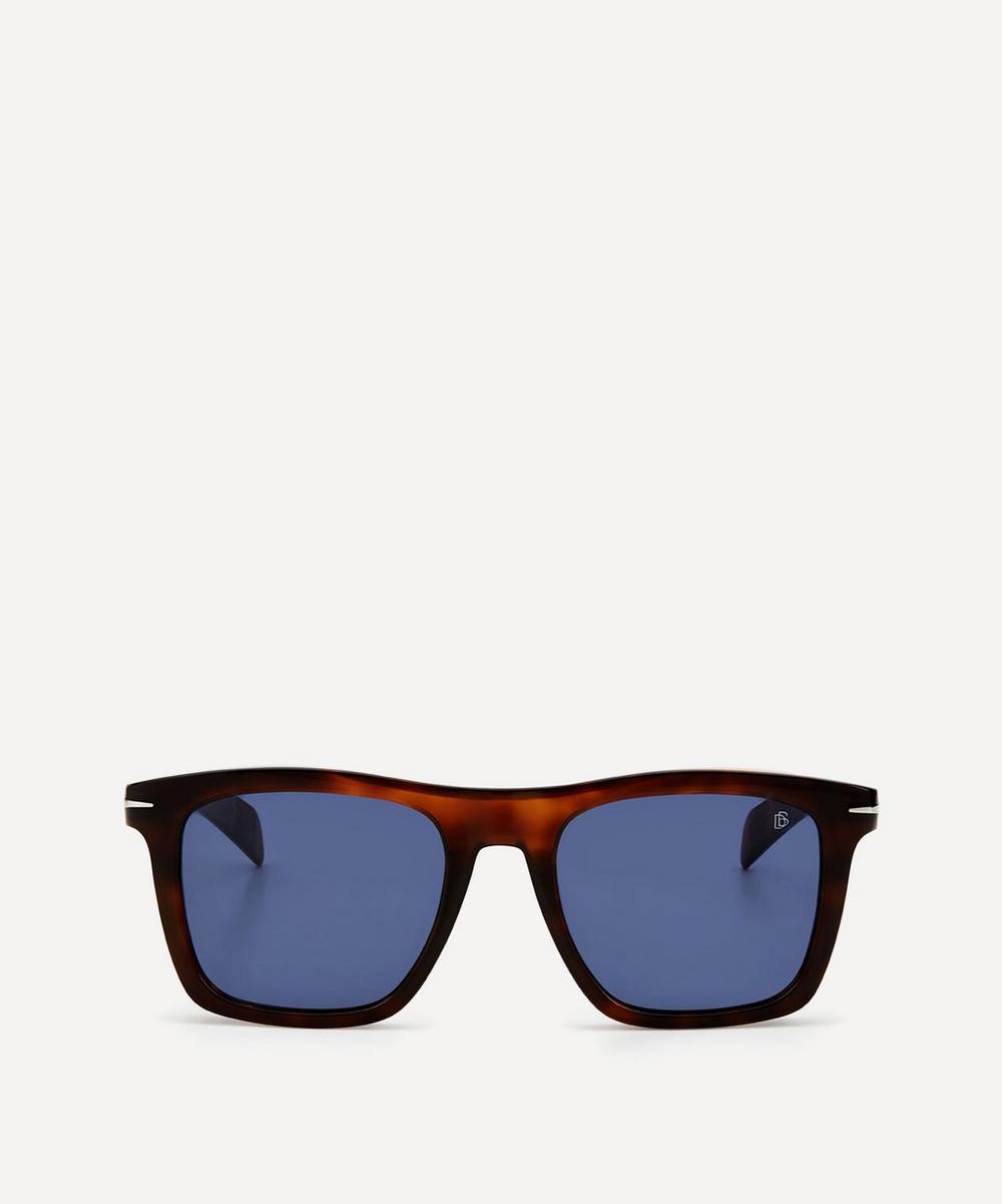 Eyewear by David Beckham - Bold Square-Frame Acetate Sunglasses