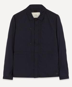 Crinkle Lightweight Tech Worker Jacket