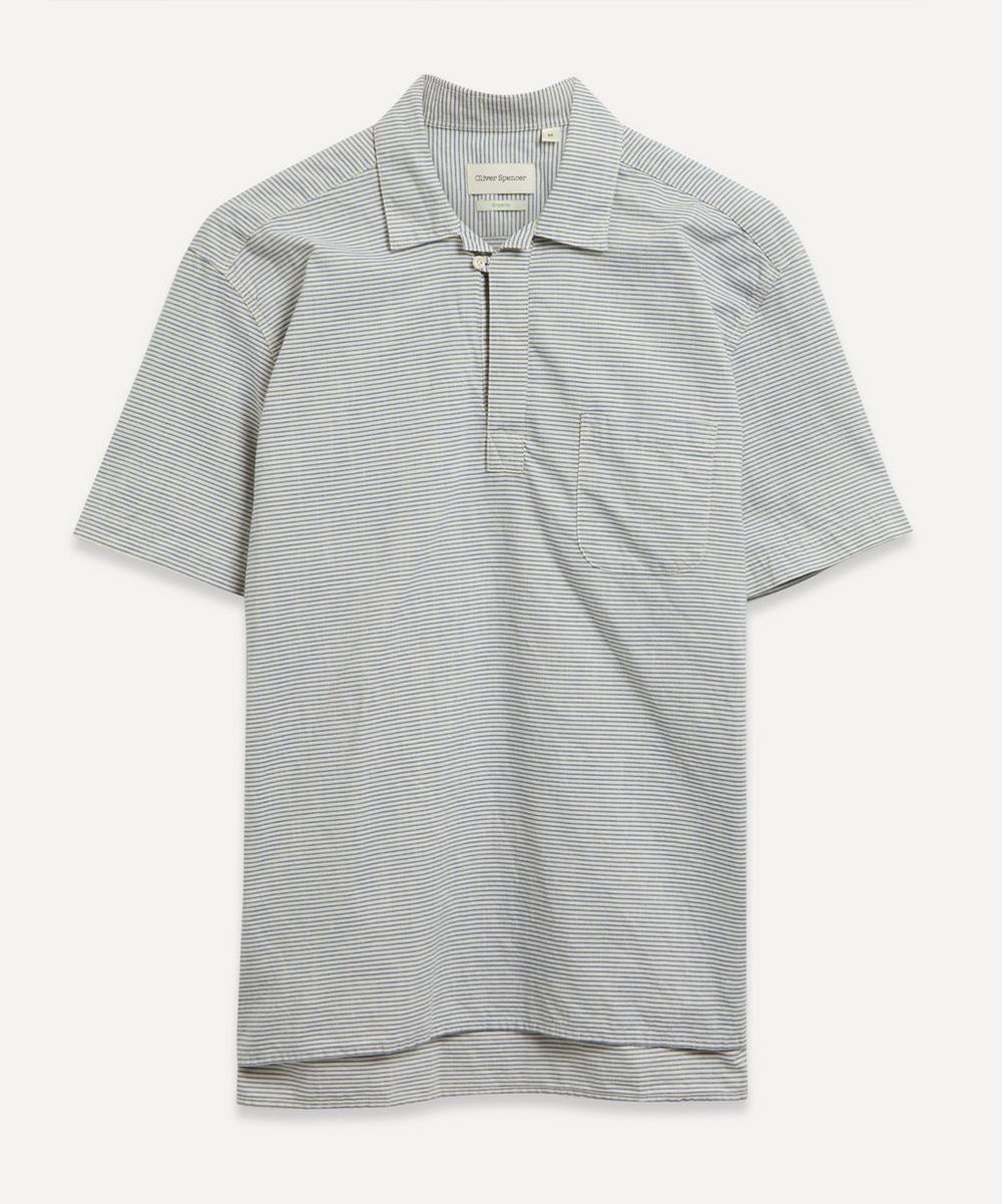 Oliver Spencer - Yarmouth Stripe Linen Shirt