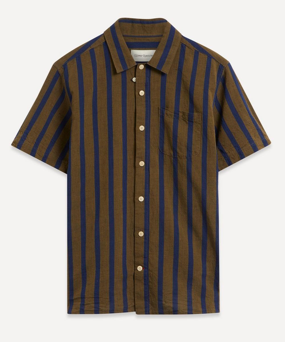 Oliver Spencer - Bold Stripe Short-Sleeve Shirt