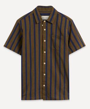 Bold Stripe Short-Sleeve Shirt