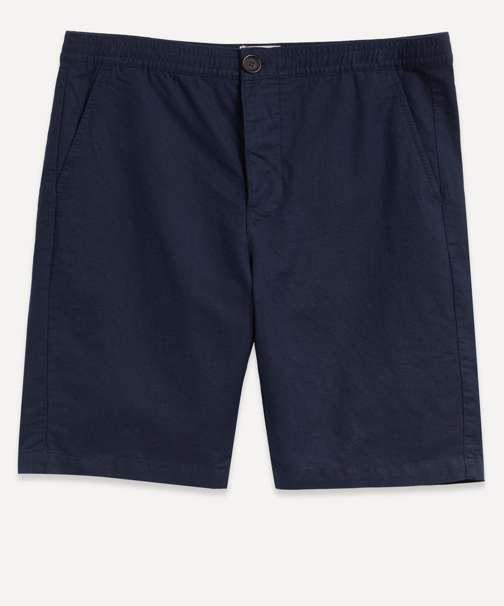 Oliver Spencer - Drawstring Cotton-Linen Shorts