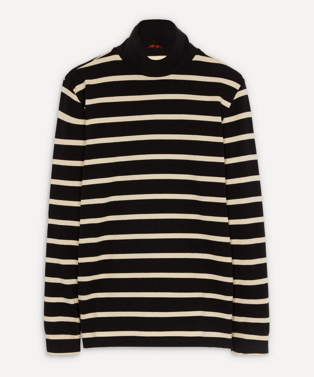 Barena - Baglio Stripe Cotton Polo-Neck