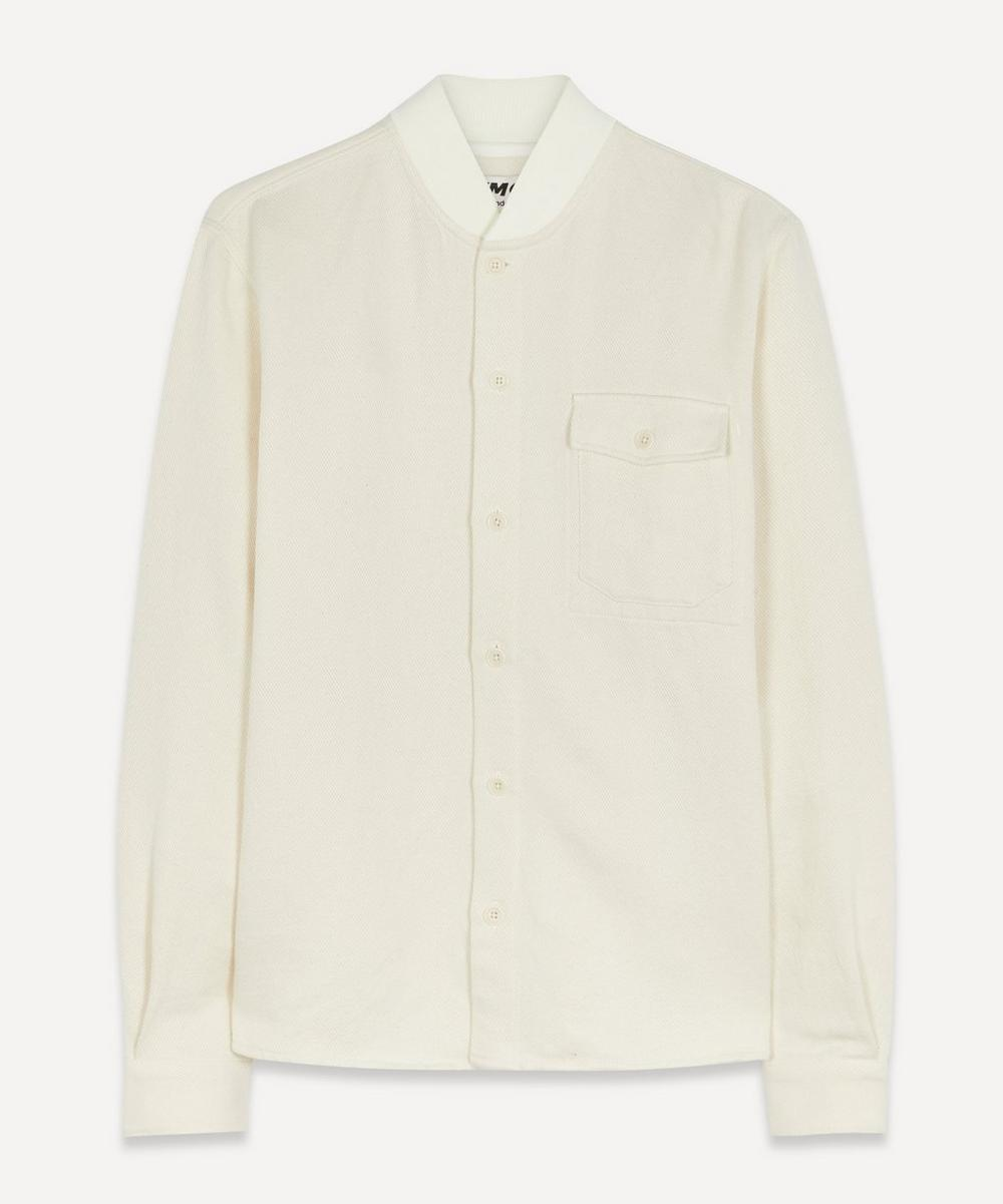 YMC - Rib Collar Cotton Shirt