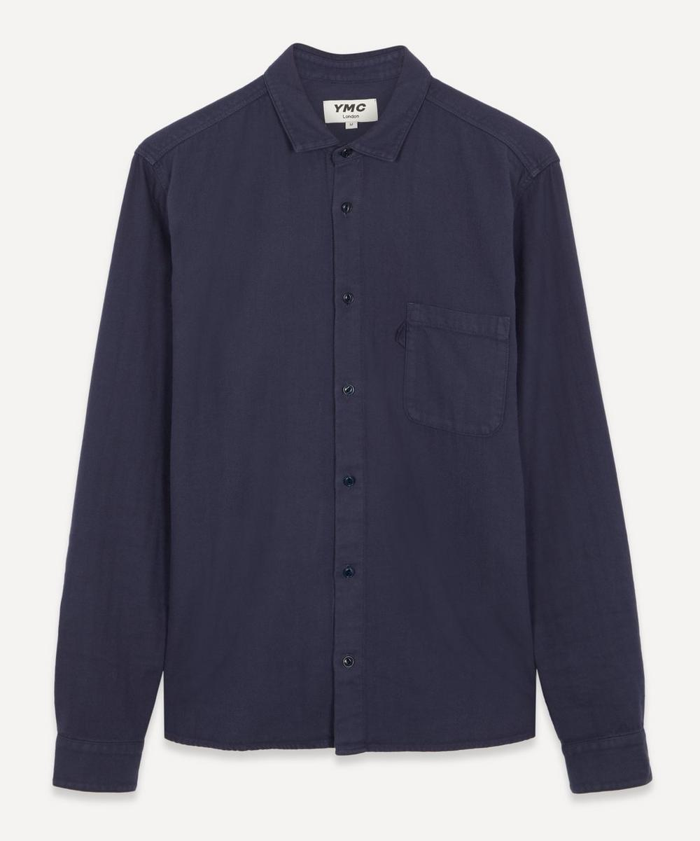 YMC - Curtis Herringbone Flannel Shirt