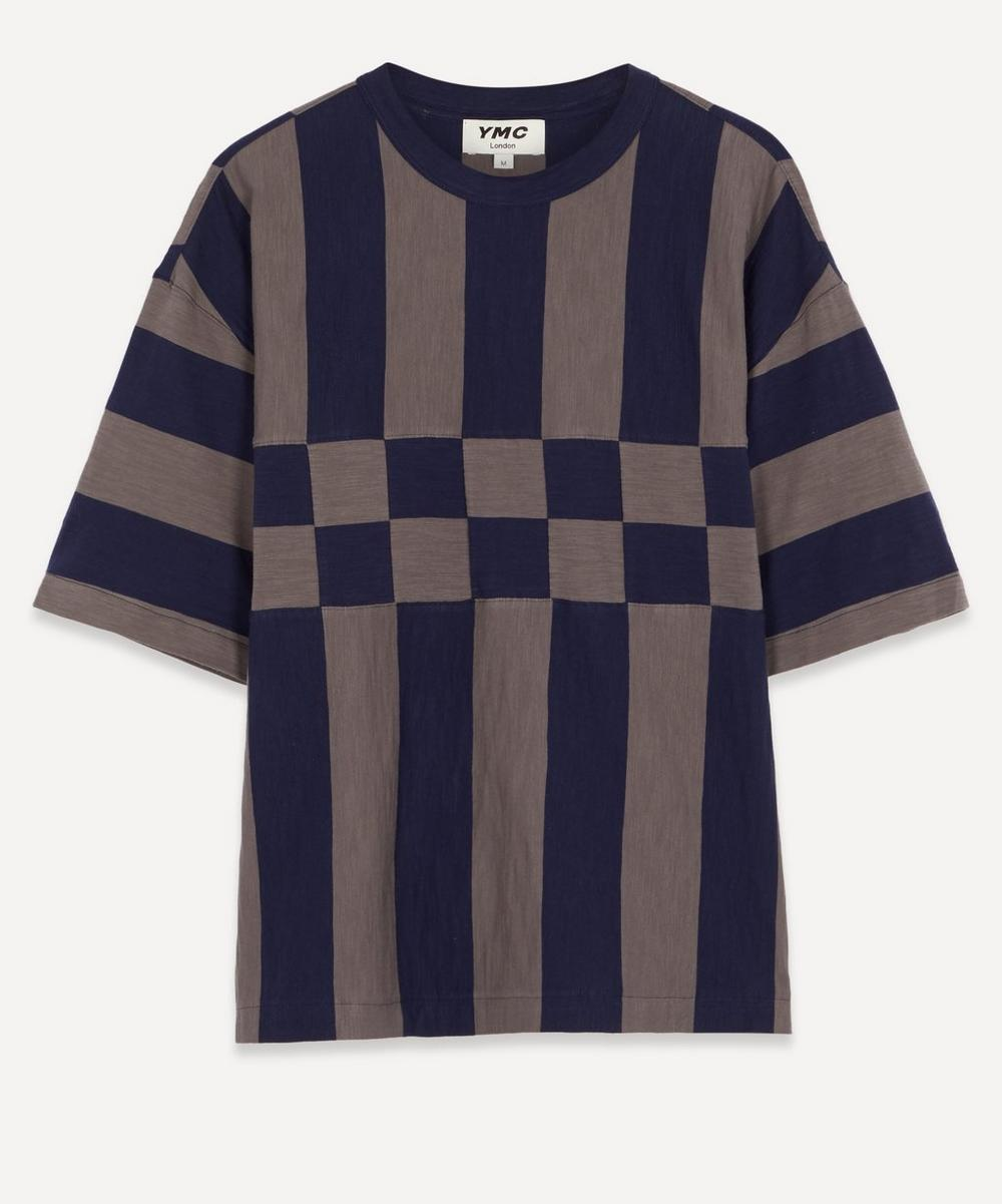 YMC - Hacienda Stripe Slub T-Shirt