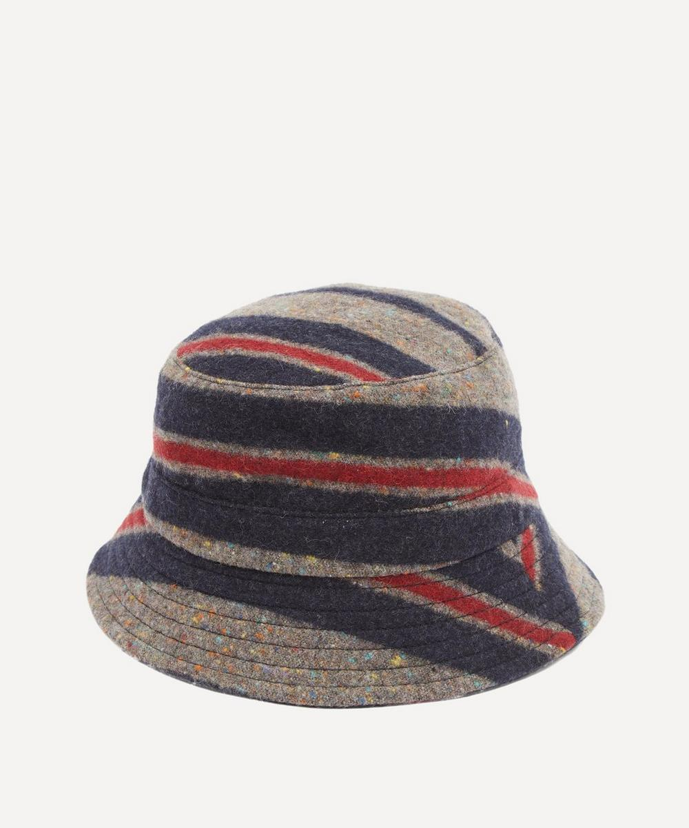 YMC - Blanket Stripe Wool-Blend Bucket Hat