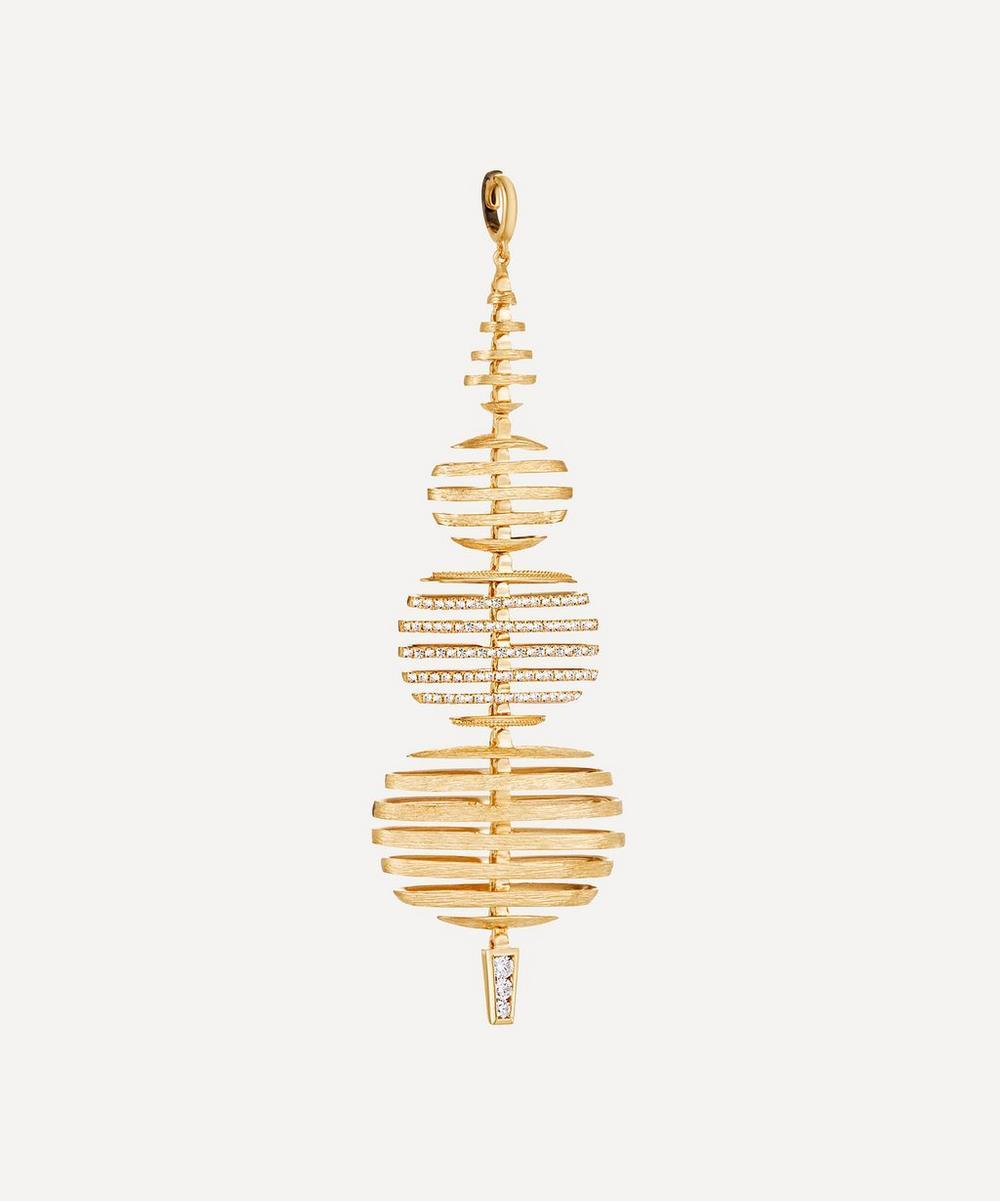 Annoushka - 18ct Gold Garden Party Large Diamond Pendant
