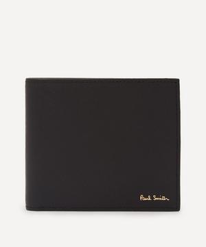 Mini Kings Cross Print Interior Leather Billfold Wallet