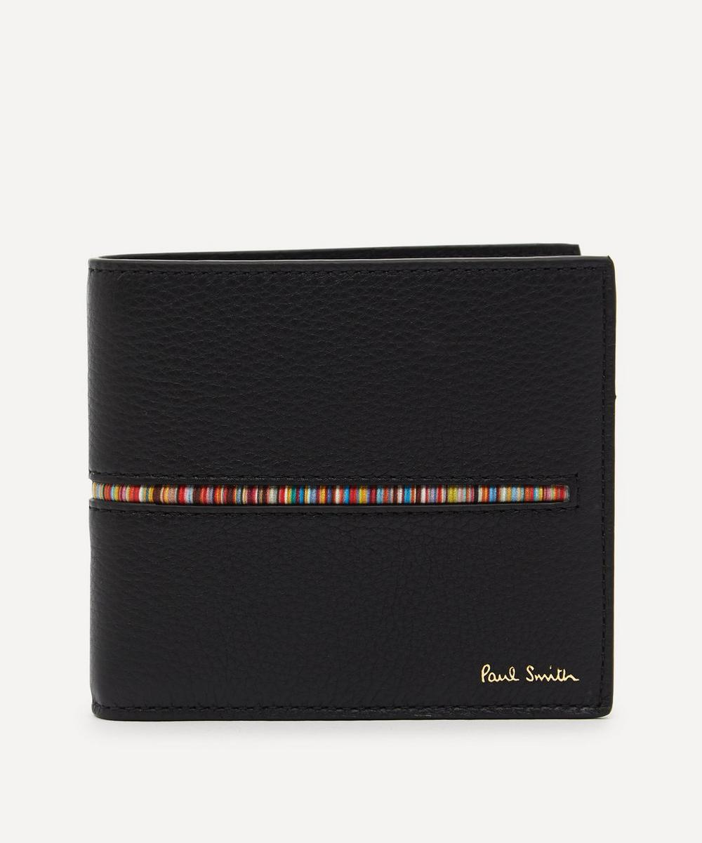 Paul Smith - Signature Stripe Leather Bifold Wallet