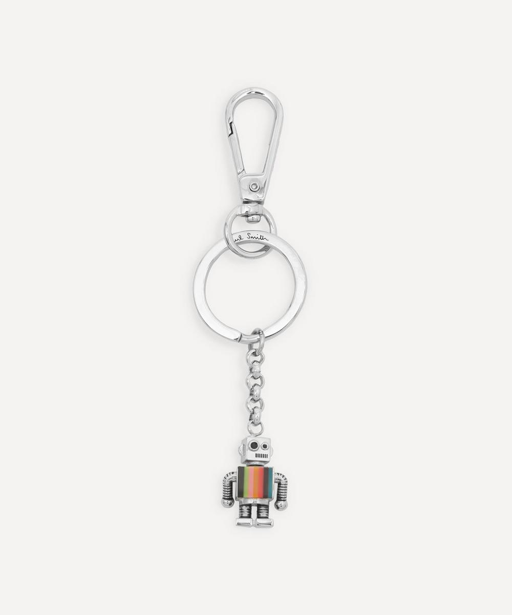 Paul Smith - Artist Stripe Robot Keyring