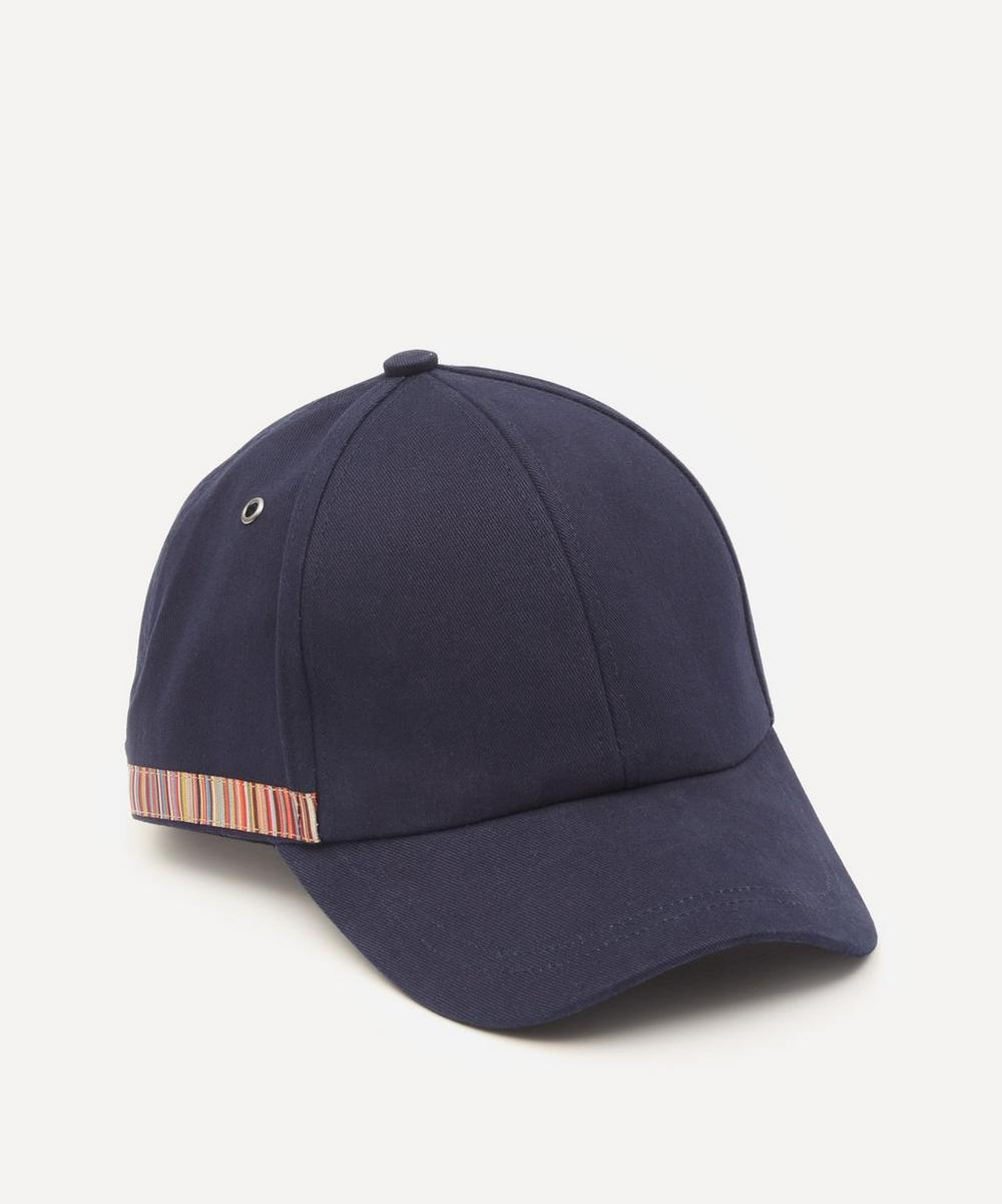 Paul Smith - Signature Stripe Cotton Baseball Cap