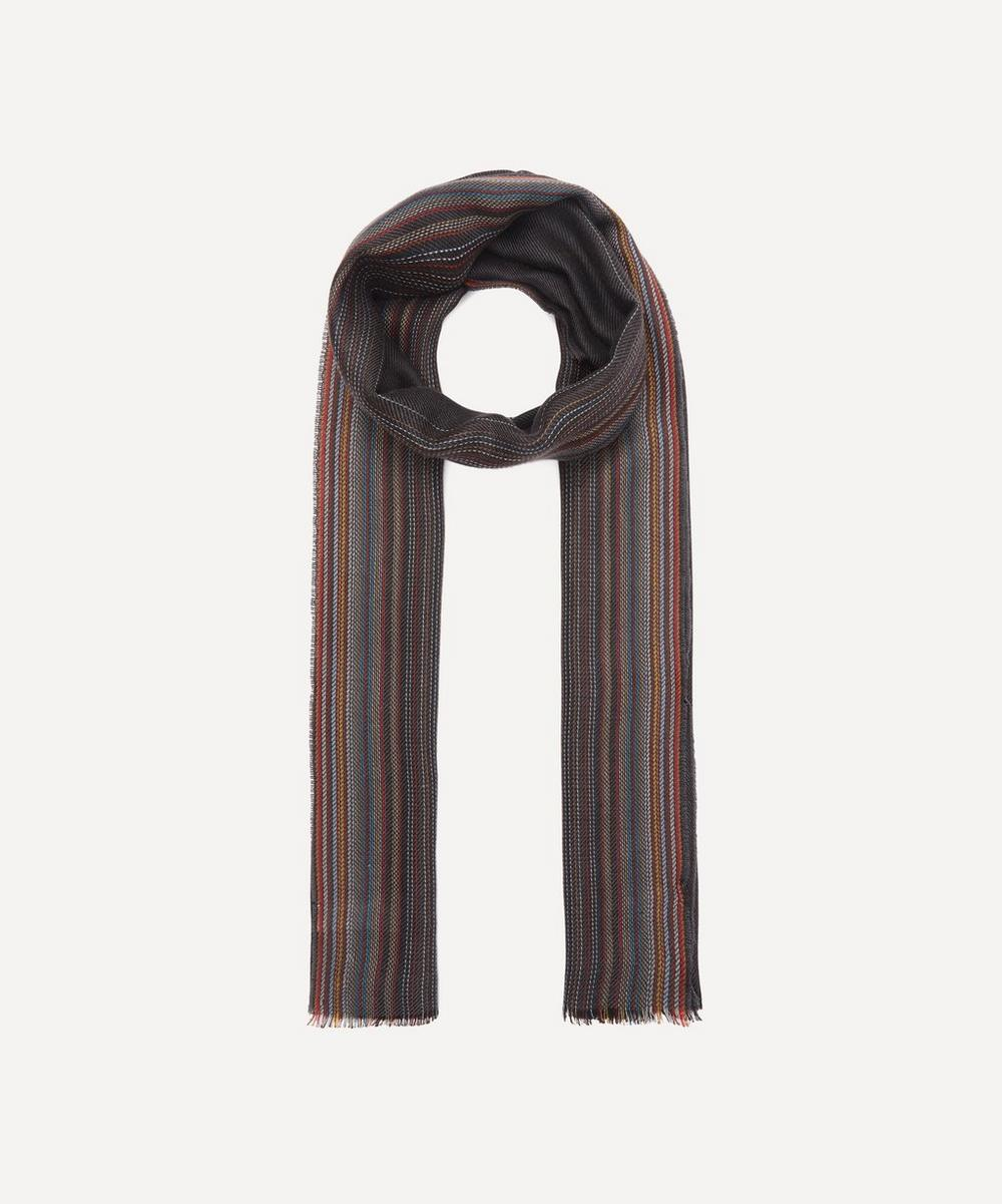 Paul Smith - Ombre Stripe Wool-Blend Scarf