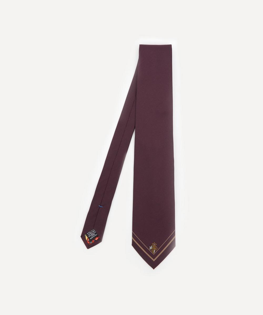 Paul Smith - Flower Border Silk Tie