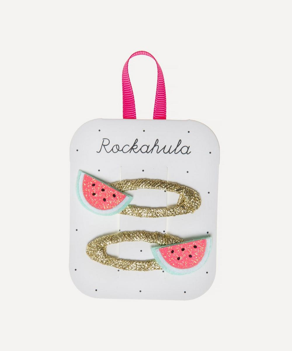 Rockahula - Little Watermelon Glitter Hair Clips