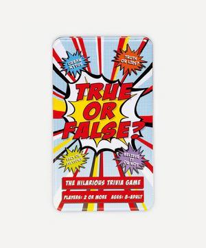 True or False? Game Tin