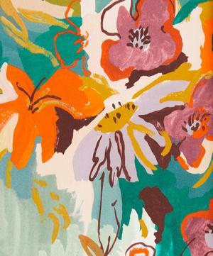 Artist's Garden Silk Satin