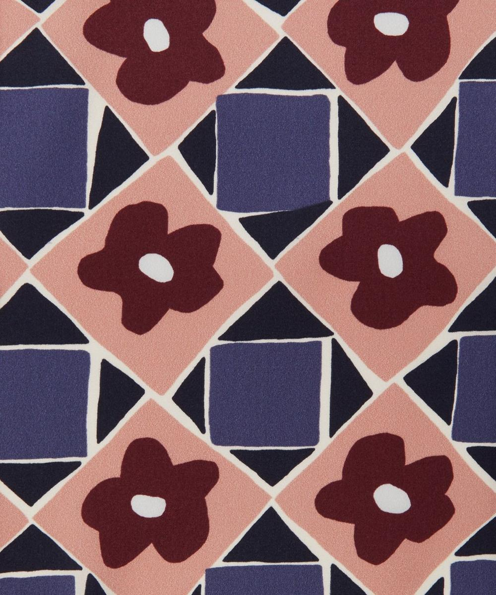 Liberty Fabrics - Floral Terrazzo Silk Satin