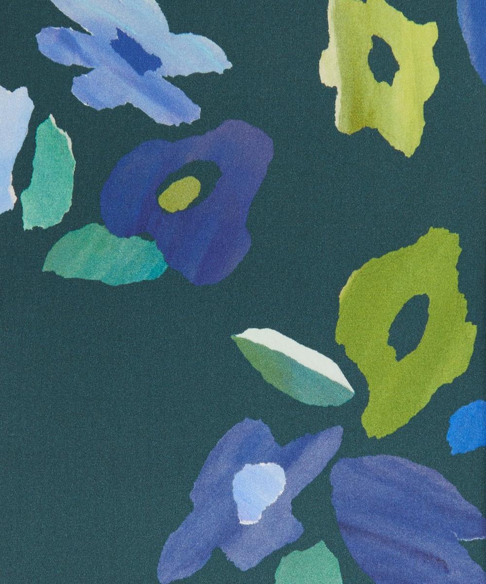 Liberty Fabrics - Torn Blossom Silk Satin