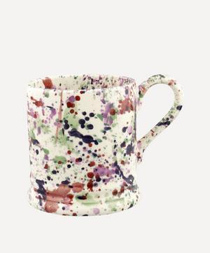 Wallflower Splatter Half-Pint Mug