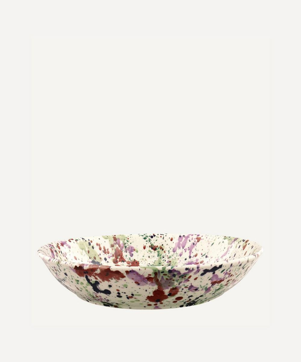 Emma Bridgewater - Wallflower Splatter Medium Pasta Bowl