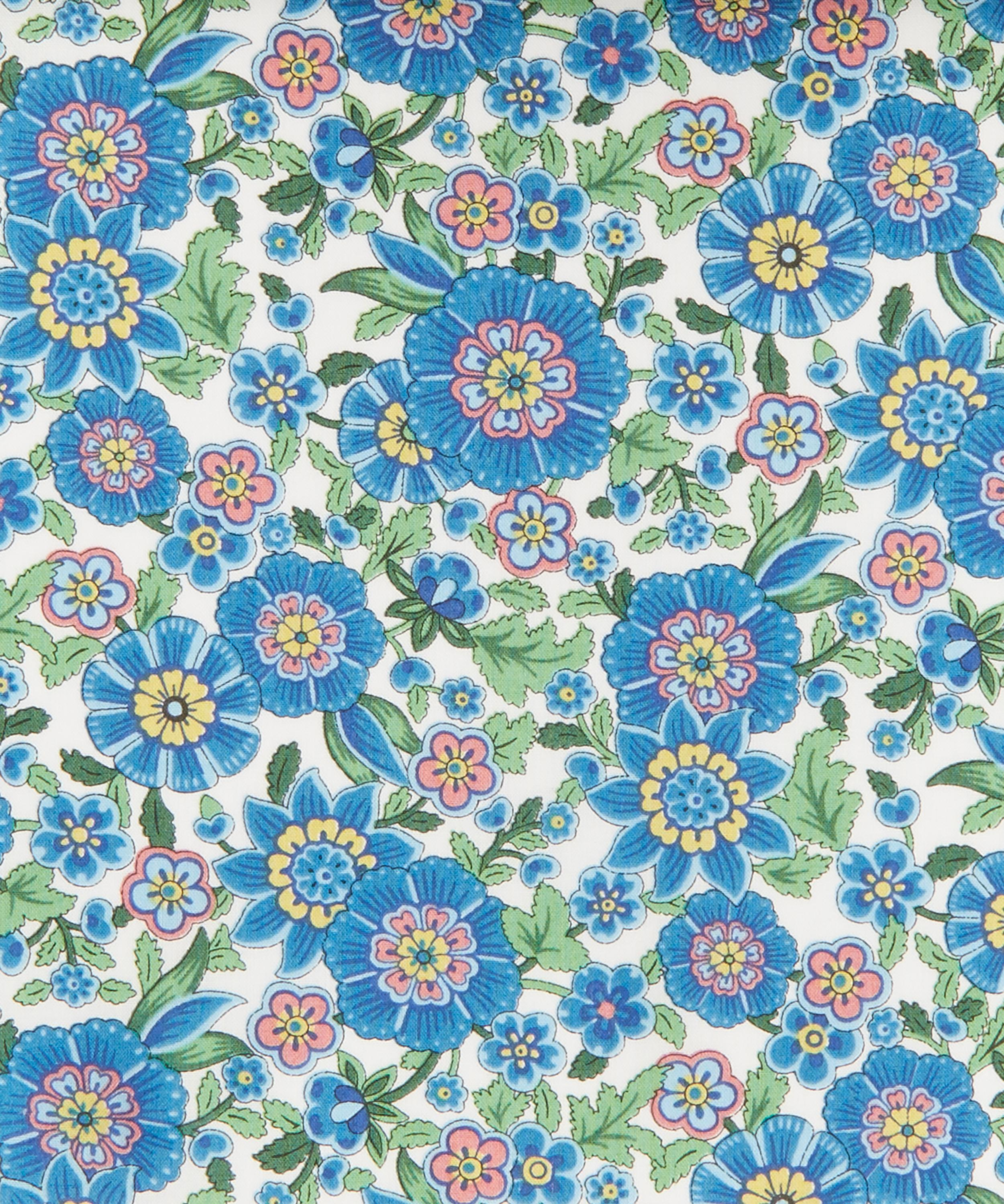 Blue floral Liberty fabric make your own knickers kit