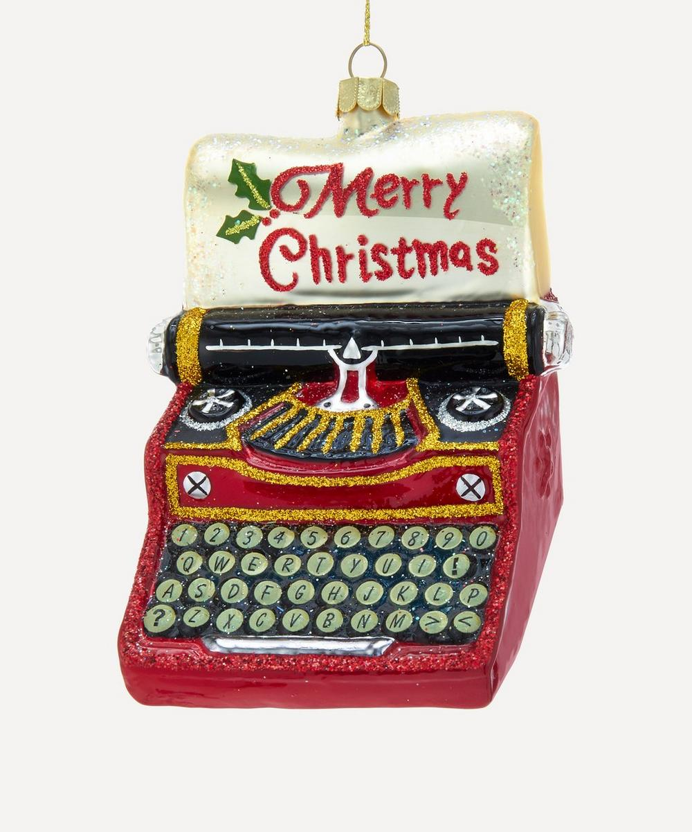 Unspecified - Christmas Typewriter Decoration