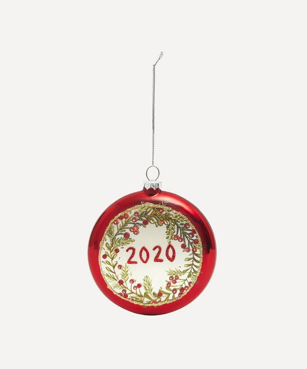 Unspecified - Holly Wreath 2020 Bauble