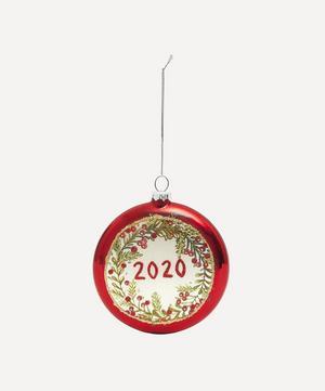 Holly Wreath 2020 Bauble
