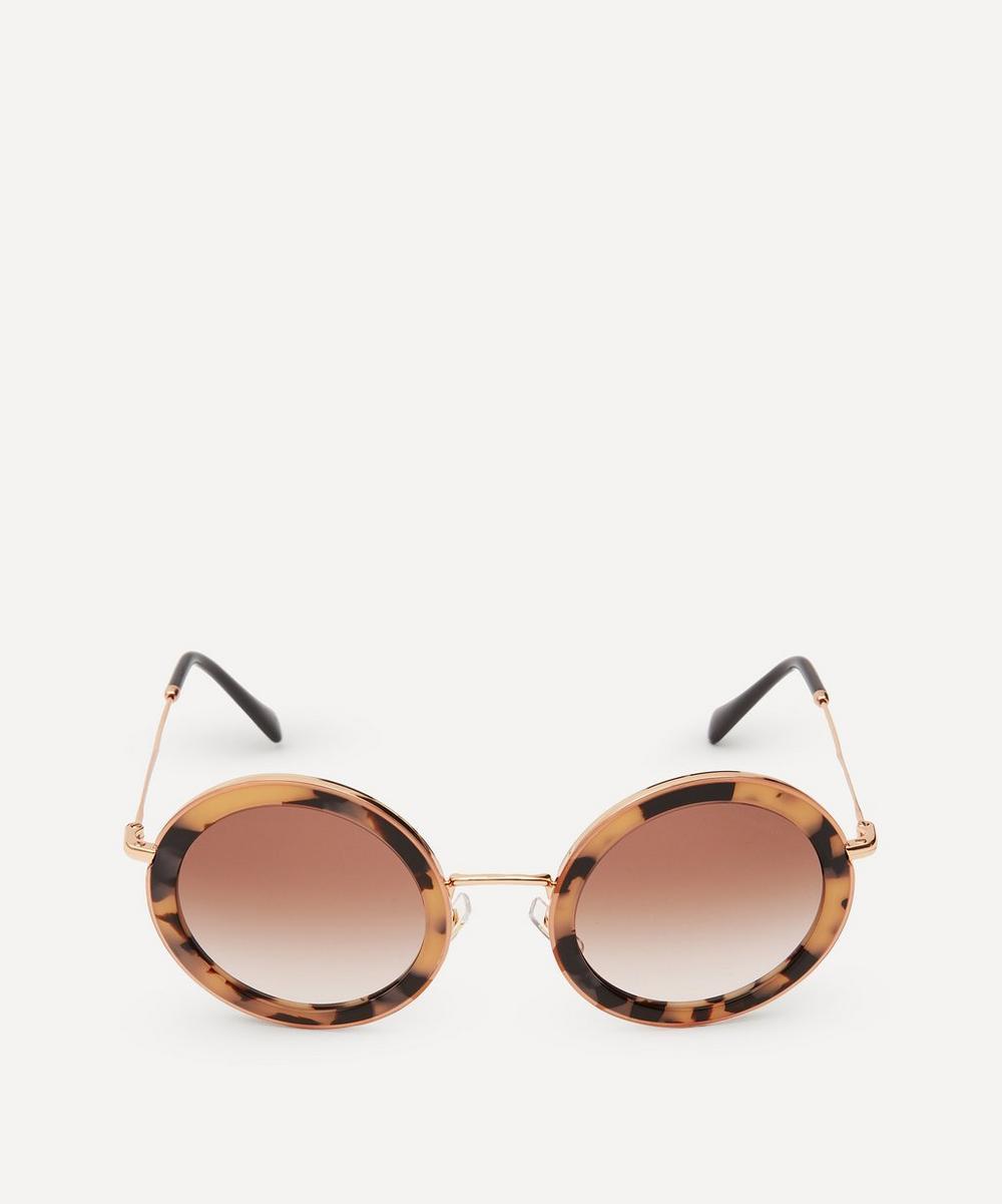 Miu Miu - Round Délice Sunglasses