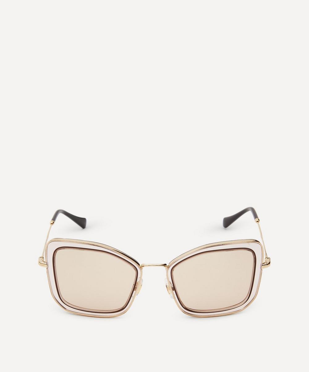Miu Miu - Square Délice Sunglasses