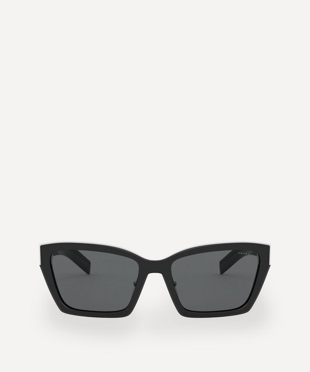 Prada - Geometric Cat-Eye Sunglasses