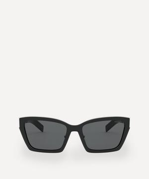 Geometric Cat-Eye Sunglasses