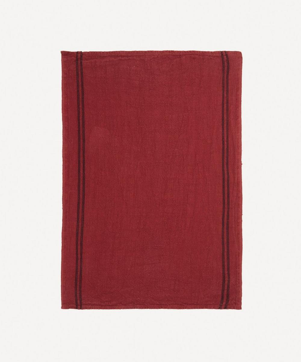 Charvet Editions - Country Medoc Linen Tea Towel