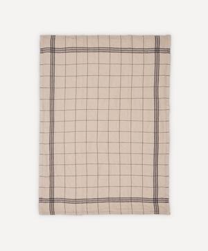 Essuie Verres Moka Washed Linen Tea Towel