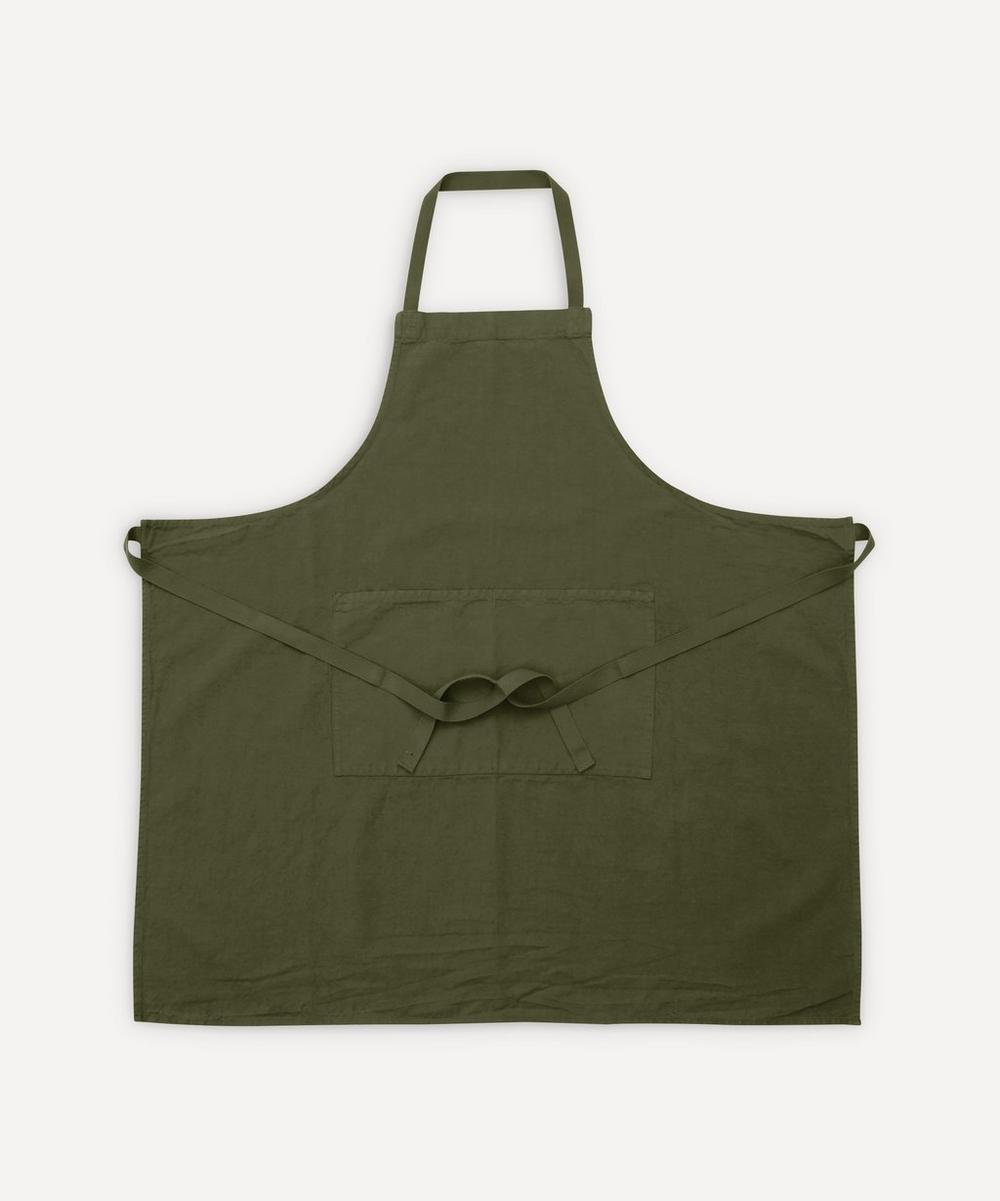 Charvet Editions - Fleuriste Lierre Cotton-Blend Apron