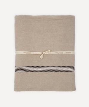 Saint Malo Lin Noir Linen Tablecloth