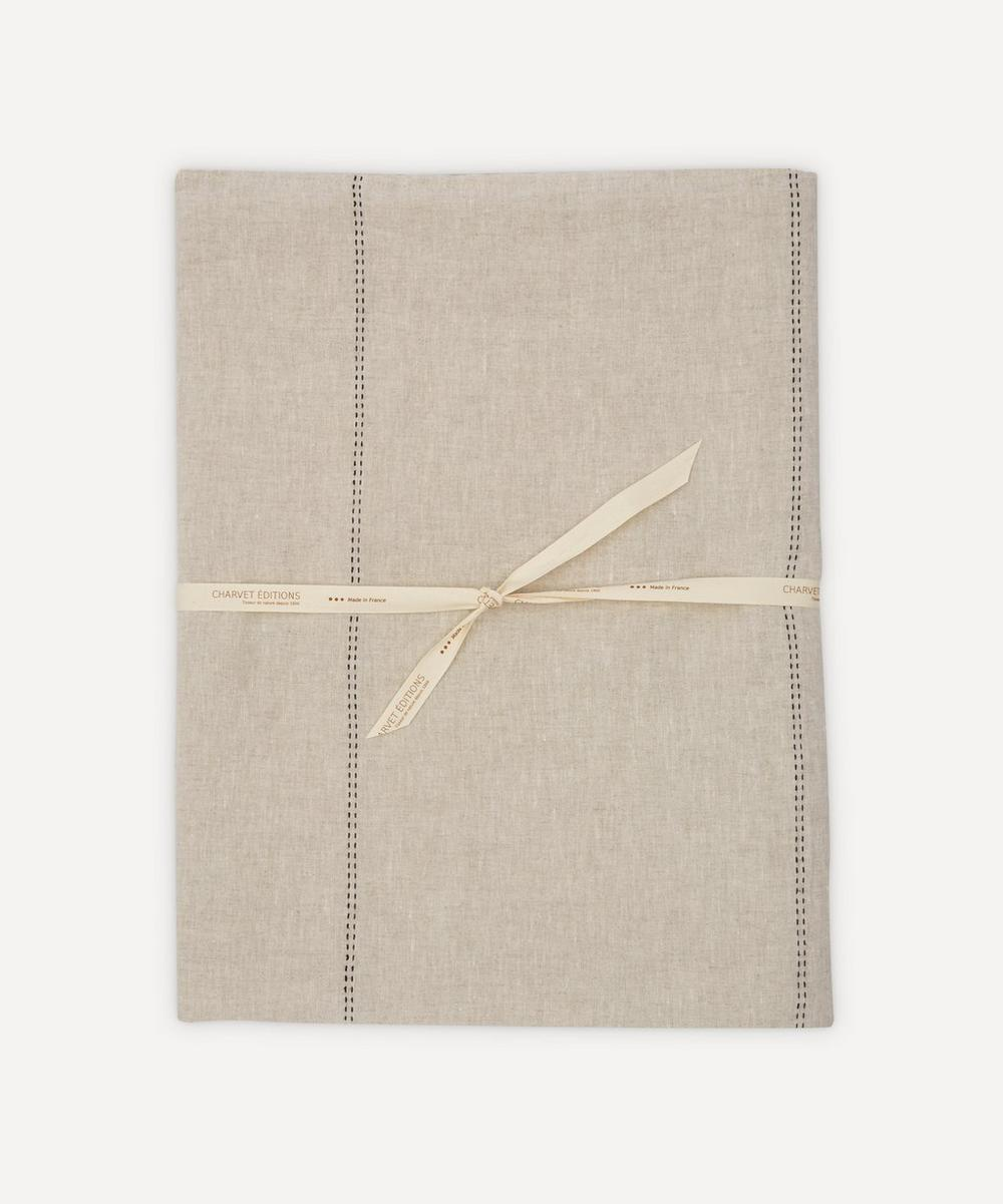 Charvet Editions - Rythmo Linen Tablecloth