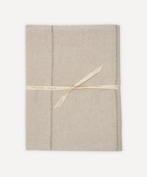 Rythmo Linen Tablecloth