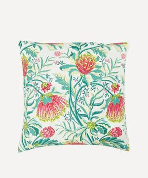 Matchstick Banksia Green Cushion Cover