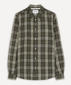 Hans Small Check Shirt