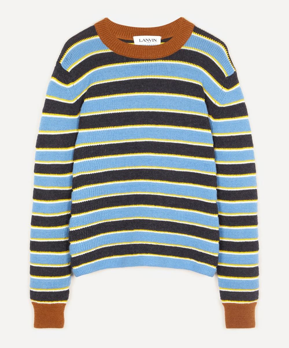 Lanvin - Striped Knitted Sweater