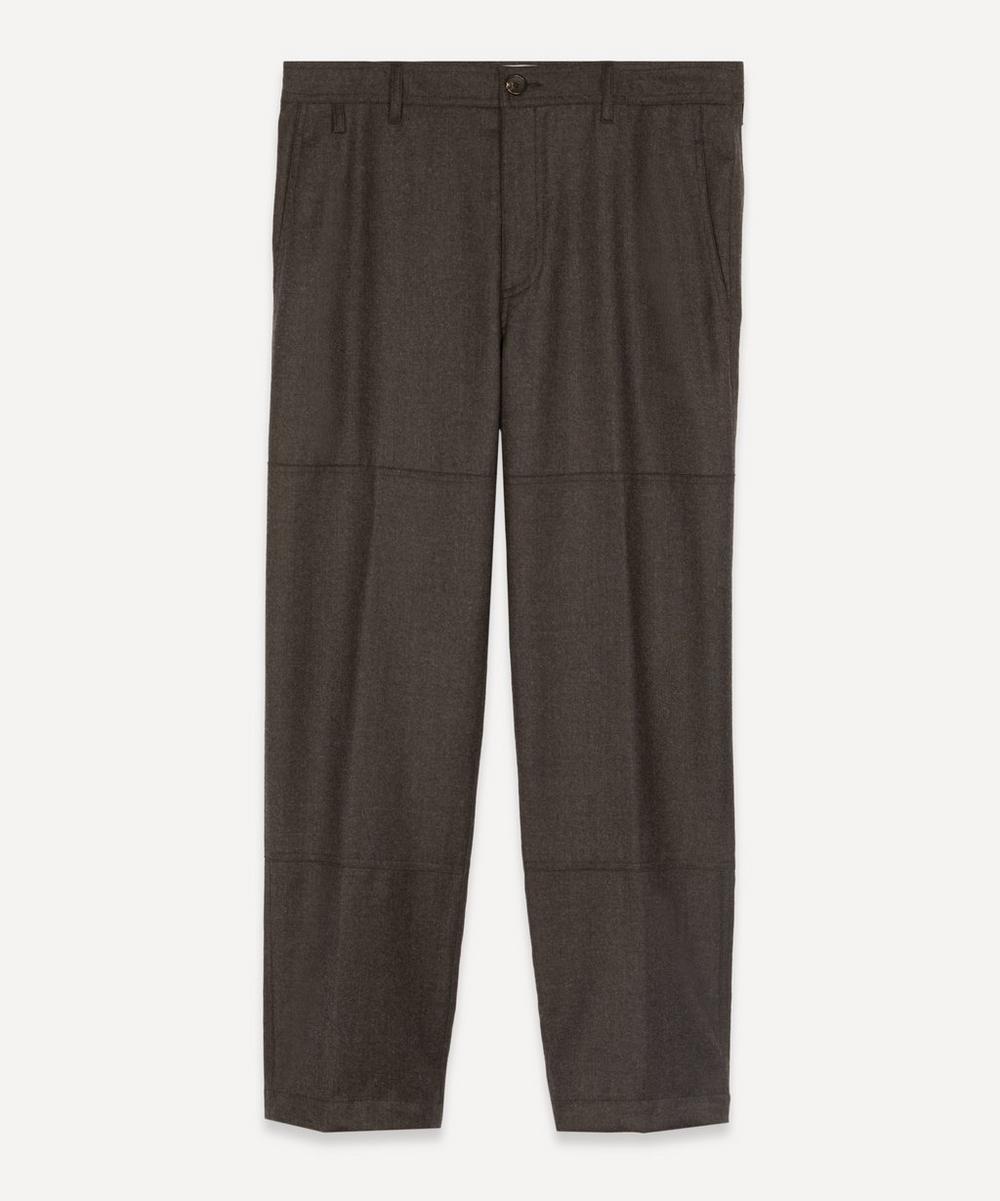 Lanvin - Biker Cropped Wool Trousers