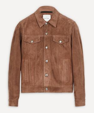 Suede Patch Pocket Jacket