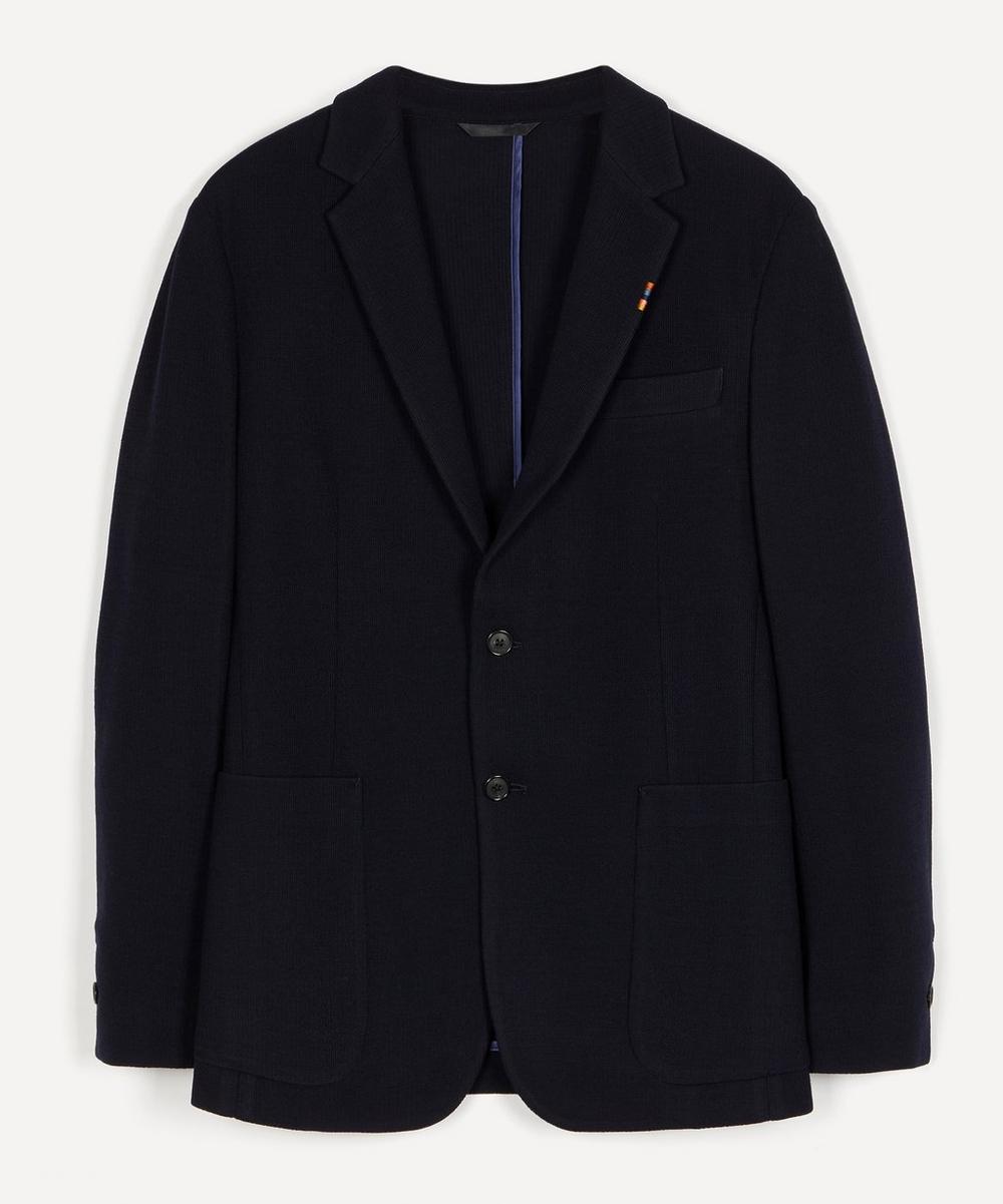Paul Smith - Knitted Wool Jersey Blazer
