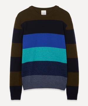 Artist Stripe Lambswool Sweater