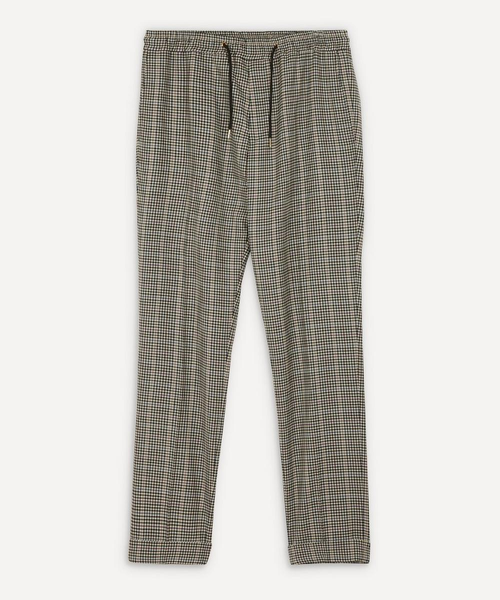 Paul Smith - Gingham Drawstring Trousers