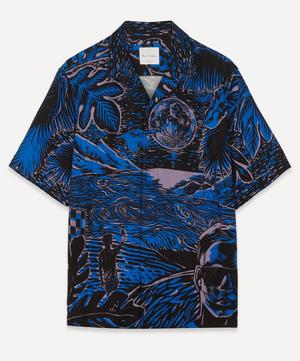 Tailored-Fit Chile Print Short-Sleeve Shirt